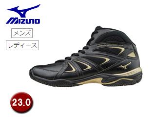 mizuno/ミズノ K1GF1571-09 ウエーブダイバース LG3 フィットネスシューズ 【23.0】 (ブラック)