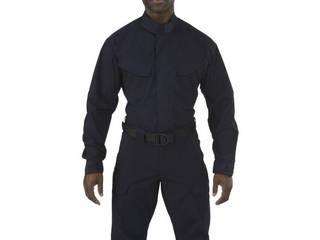 5.11 Tactical/ファイブイレブンタクティカル ストライク TDU LSシャツ ダークネイビー XSサイズ 72416-724-XS
