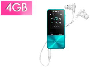 SONY/ソニー NW-S313-L(ブルー) 4GB ウォークマン Sシリーズ(メモリータイプ)