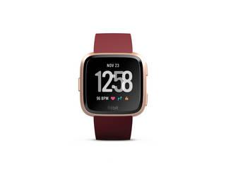 Fit bit スマートウォッチ Fitbit Versa FB505RGRD-EU ウェアラブル 心拍数 健康