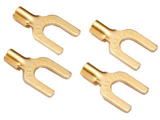 ORB/オーブ HL-YLi PRO50 High-end Lug ProPack 50(プロパック50) ラグ端子(50個セット) 【金メッキモデル】 ※絶縁チューブは付属しておりません。