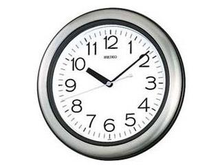 SEIKO/セイコークロック KS463S キッチン・バス用クロック 掛け時計