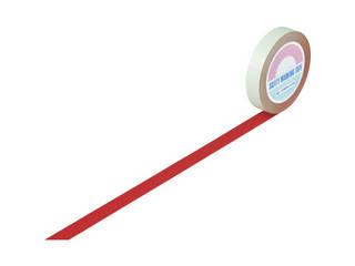 J.G.C./日本緑十字社 ガードテープ(ラインテープ) 赤 25mm幅×100m 屋内用 148014
