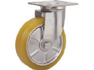 SISIKU/シシクアドクライス ステンレスキャスター 制電性ウレタン車輪付自在 SUNJ-125-SEUW