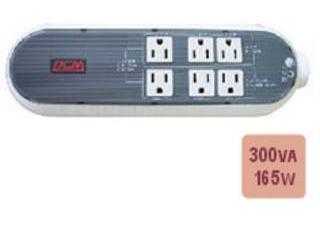 Powercom タップ型無停電電源装置(UPS) WOW-300UR