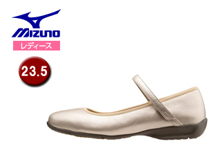 mizuno/ミズノ B1GH1570-49 レディースウォーキングシューズ SELECT520 【23.5】 (ゴールド)