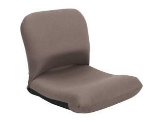 背中を支える美姿勢座椅子 ブラウン 背中 CBC-313 BR