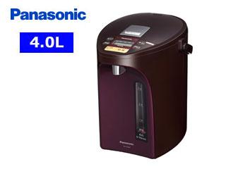 【nightsale】 Panasonic/パナソニック NC-SU404-T マイコン沸騰ジャーポット 【4.0L】(ブラウン)
