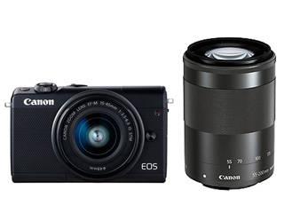 CANON/キヤノン EOS M100(ブラック)・ダブルズーム&ダブルレンズキット