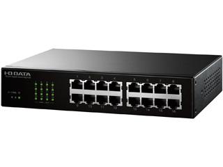 I・O DATA/アイ・オー・データ ギガビット対応16ポートスイッチングハブ ETG-ESH16NC