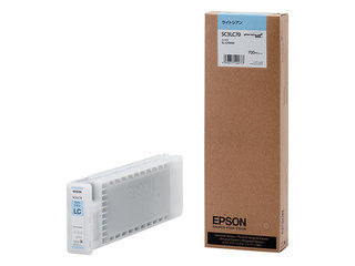EPSON/エプソン Sure Color用 インクカートリッジ/700ml(ライトシアン) SC3LC70