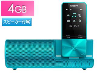 SONY/ソニー NW-S313K-L(ブルー) スピーカー付 4GB ウォークマン Sシリーズ(メモリータイプ)