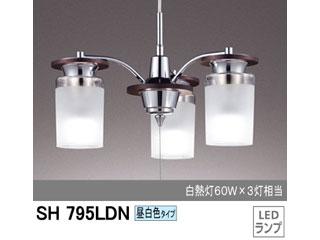 【nightsale】 ODELIC/オーデリック SH795LDN LEDシャンデリア 3灯 (昼白色)