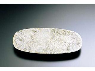 YOUNGSHIN 本日限定 STONE 石器 お気にいる 角小判皿 30cm YSSJ-015