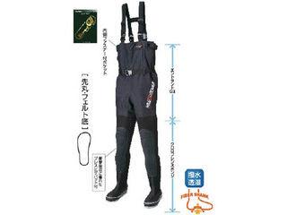 HANSHIN KIJI/阪神素地 FX-543 透湿スリムウェーダー 先丸 24.0cm X体 FX-543-24.0X
