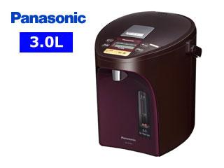 【nightsale】 Panasonic/パナソニック NC-SU304-T マイコン沸騰ジャーポット 【3.0L】(ブラウン)