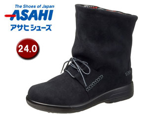 ASAHI/アサヒシューズ AF38831 TDY38-83 トップドライ 女性用ブーツ 【24.0cm・3E】(ブラック)