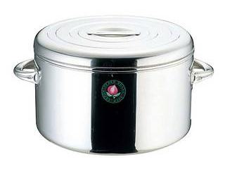 神子島製作所 モモ 18-8 ライスジャー(保温食缶)3升用