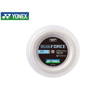 YONEX/ヨネックス BG66F2-11 バドミントンストリング BG66 FORCE チーム200/BG66 フォース チーム200 (ホワイト)
