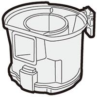 新入荷 流行 SHARP シャープ 掃除機用 2171370504 ダストカップ 低価格