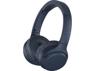 SONY/ソニー ワイヤレスステレオヘッドセット ブルー WH-XB700-L