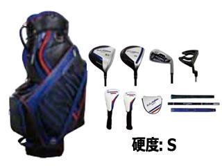LEZAX/レザックス USCS-4716 U.S.Athletes クラブセット (ブラック)【硬度:S】