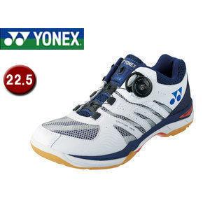 YONEX/ヨネックス SHBCFWD-19 バドミントンシューズ パワークッションコンフォートワイド D 【22.5】 (ネイビーブルー)