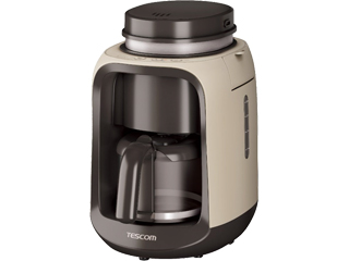 【nightsale】 【台数限定!ご購入はお早めに!】 TESCOM/テスコム 【オススメ】TCM501(C) 全自動コーヒーメーカー コンフォートベージュ