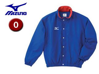 mizuno/ミズノ A60JF962-22 フード収納式 中綿ウォーマーキルトシャツ (ブルー) 【Oサイズ】