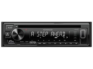 KENWOOD/ケンウッド U340W(ホワイト) CD/USB/iPodレシーバー MP3/WMA/WAV/FLAC対応
