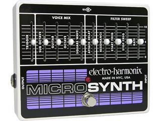 【nightsale】 electro harmonix/エレクトロハーモニクス Micro Synthesizer アナログシンセサイザー エフェクター 【国内正規品】