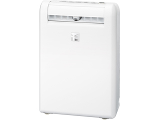 MITSUBISHI/三菱 ●MJ-M100RX(W)衣類乾燥除湿機 部屋干し3Dムーブアイ搭載「サラリ」 ホワイト