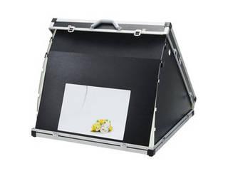 【納期にお時間がかかります】 ETSUMI/エツミ エツミ 簡易スタジオ ポータブルスタジオDX + 専用蛍光管照明器具2本セット V-84979