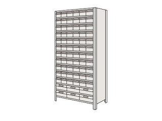 SAKAE/サカエ 【代引不可】物品棚LEK型樹脂ボックス LEK2114-72T