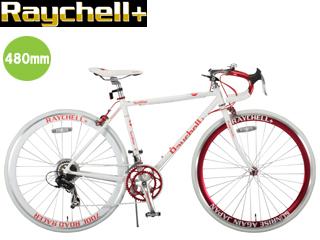 Raychell+/レイチェルプラス R+714 SunRise 480mmクロスバイク サンライズ (ホワイト×レッド) メーカー直送品のため【単品購入のみ】【クレジット決済のみ】 【北海道・沖縄・離島不可】【日時指定不可】商品になります。