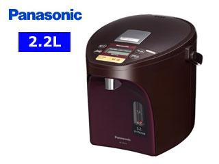 【nightsale】 Panasonic/パナソニック NC-SU224-T マイコン沸騰ジャーポット 【2.2L】(ブラウン)