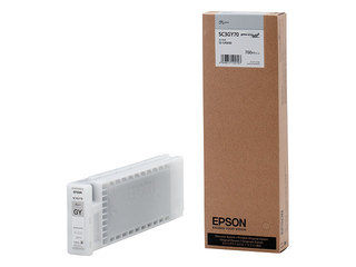 EPSON/エプソン Sure Color用 インクカートリッジ/700ml(グレー) SC3GY70