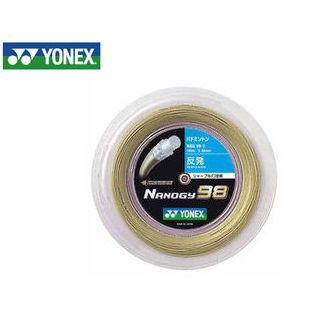 YONEX/ヨネックス NBG982-528 バドミントンストリング NANOGY 98 チーム200/ナノジー 98 チーム200 (コスミックゴールド)