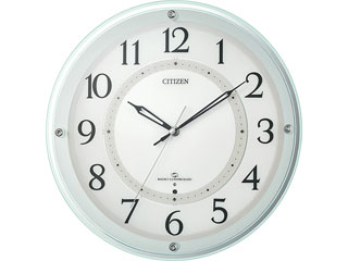 CITIZEN/シチズン 4MY859-005 電波掛時計M859 【スリーウェイブ】【アナログ】:ムラウチ