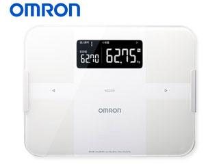 OMRON/オムロン HBF-255T-W 体重体組成計 カラダスキャン (ホワイト)