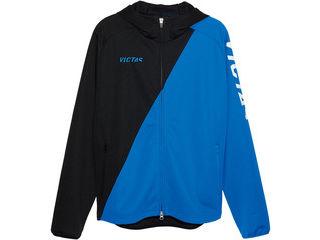 VICTAS(ヴィクタス) VICTAS V‐NJJ056 フーデッドジャージジャケット/S/ブルー