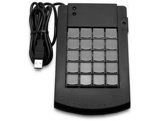 エフケイシステム KB200(B)プログラマブルキーボード20キー ブラック 納期にお時間がかかる場合があります