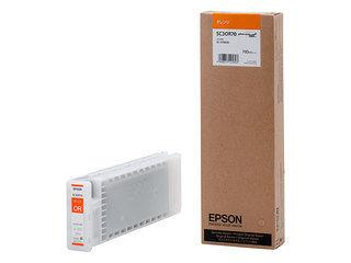 EPSON/エプソン Sure Color用 インクカートリッジ/700ml(オレンジ) SC3OR70