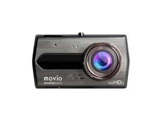 リアカメラ搭載 2カメラで前後を記録。あおり運転対策に! ナガオカ NAGAOKA 高画質HDリアカメラ搭載ドライブレコーダー MDVR206HDREAR 一体型 /Full HD(200万画素) /前後カメラ対応 /駐車監視機能付き