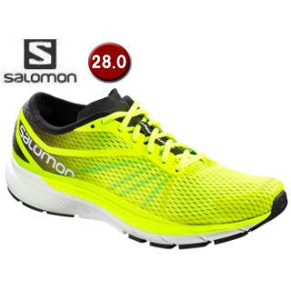 【在庫限り】 SALOMON/サロモン ■L40013800 SONIC RA PRO ロードランニングシューズ メンズ【28.0cm】(Safety Yellow/Black/Blue Bird)