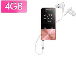 SONY/ソニー NW-S313-PI(ライトピンク) 4GB ウォークマン Sシリーズ(メモリータイプ)