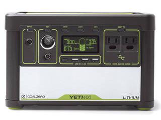 GOAL ZERO Yeti Lithium 400 (100V) Portable Power Station 38008