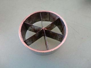 ゴボー用 たて割カッターKG-6用 6分割 替刃