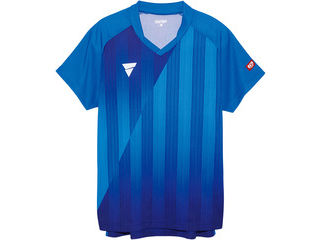 VICTAS(ヴィクタス) VICTAS V‐NGS052 ユニセックス ゲームシャツ/2XS/ブルー