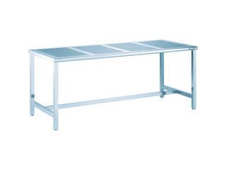 TRUSCO/トラスコ中山 【代引不可】パンチングテーブルSUS304 900×750 #400 PTB-970